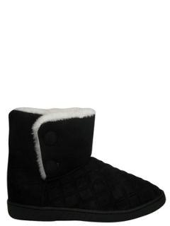 NEU FRIIS & COMPANY warme Winterstiefel Stiefel Boots Schuh schwarz