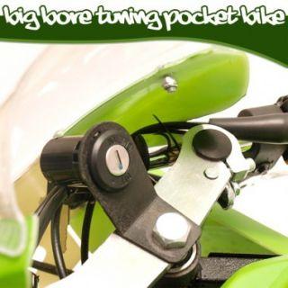 TUNING POCKET BIKE MIT BIG BORE 5 MOTOR POCKETBIKE 2012