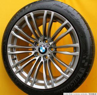 Original BMW M5 M6 5er F10 F11 19 Zoll Alufelgen M Doppelspeiche