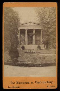 altes Fotoalbum v. Berlin mit 20 CDV Fotos von ca. 1880