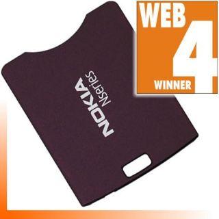 Original Back Cover Nokia N95 Deep Plum Lila Deckel w4W