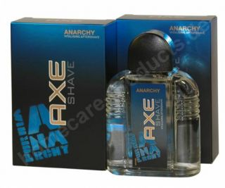 AXE Shave ANARCHY for HIM, Aftershave 2 x 100 ml (100ml4,45)