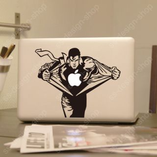 Superman Vinyl Decal Sticker Laptop Skin for Apple MacBook Pro Unibody