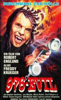 976 EVIL Robert Englund HORROR VHS FSK ab 18 Jahren