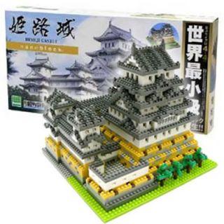 Kawada NB 006 nanoblock Japanese Himeji Castle Deluxe Edition