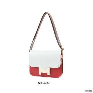 NEW S/S Season H Gold Buckle Point Shoulder Mini Cross Body Bags