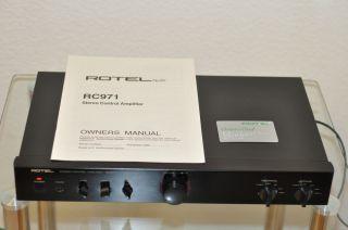 ROTEL RC 971 RC 971 Stereo Control Amplifier Vorverstärker 1 Hand TOP