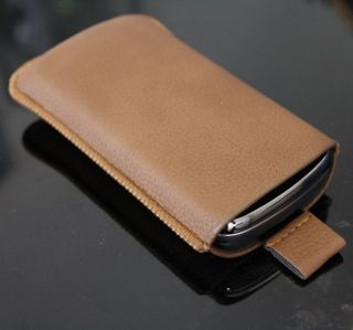 Sagem Puma Phone Handy Leder Tasche Hülle Etui Case #1