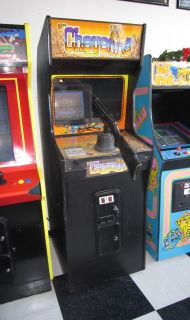 CHEYENNE ARCADE VIDEO GAME ~ CLASSIC SHOOTER ~ $199 SHIPPING