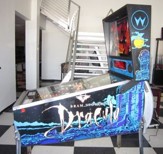 DRACULA PINBALL MACHINE by WILLIAMS ~ FEATURE LOADED GAME ~ $199