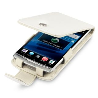 TERRAPIN GENUINE LEATHER FLIP CASE FOR SONY ERICSSON XPERIA ARC S