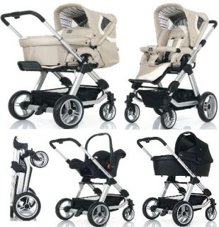 ABC Design TURBO 4S Kombi Kinderwagen AB GEBURT