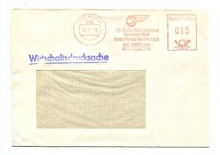 Brief AFS DDR Werdau 962 03.7.79 VEB Kraftverkehrskombinat Karl Marx