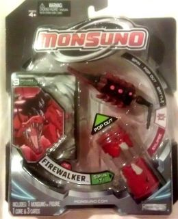 MONSUNO Firewalker Core Action Figure With 3 Cards   WAVE #2