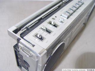 Vintage SANYO M 7800K M7800K mini Ghettoblaster Boombox zum