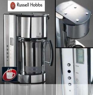 RUSSELL HOBBS BLACK GLASS KAFFEEMASCHINE   NEU   OVP !!