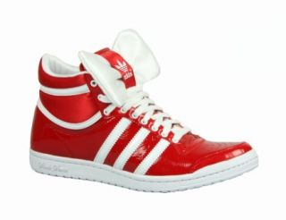 ADIDAS Schuhe TOP TEN HI SLEEK BOW W unired / rot   Schleife NEU
