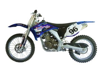 MTX250YB Enduro Cross Dirt Bike 250cc 4 Takt Blau