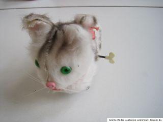 Emo Katze mechanisches Spielzeug Spielzeugkatze ca 1975