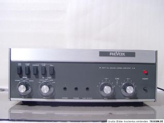 Vintage REVOX A78 A 78 High End Stereo Verstärker nice sauber