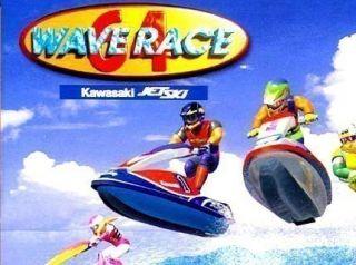 N64 Spiel   WAVE RACE (nur das Modul)   für NINTENDO 64