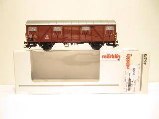 Märklin 46275 Güterwagen Glmehs50 DB EP 3 KKK OVP NEU FU994