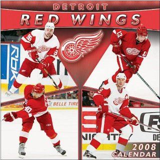 Detroit Red Wings 2008 Wall Calendar