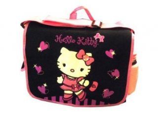 Large Messenger Bag / Pink Hearts w/ Water Bottle / NEW 2008 Shoes
