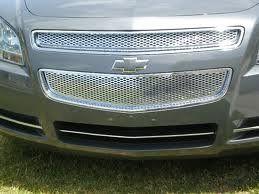 2008 2011 08 09 10 11 Chevy Malibu Chrome Grille LTZ Style (2 Piece