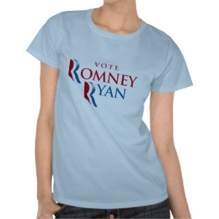 VOTE ROMNEY RYAN AMERICA.png t shirts by Politicaltshirts