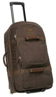 OGIO Terminal Travel Bag (Brown Plaid) Clothing