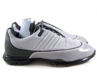 Porsches Design F5000 Gray/Black High End Golf Cleats Men Shoes Shoes