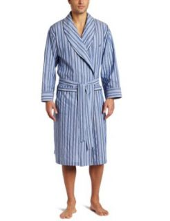 Nautica Mens Sultan Stripe Woven Robe: Clothing