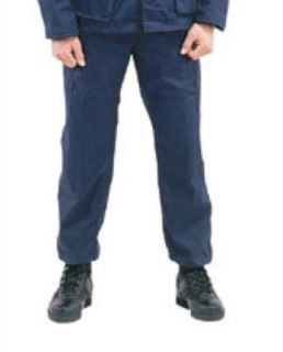 Mens Pants   Military BDU, Navy Blue, Long Length by Ultra