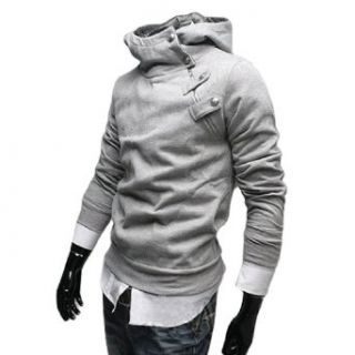 Allegra K Stylish Korea Mens Top Designed Hoodie Jacket