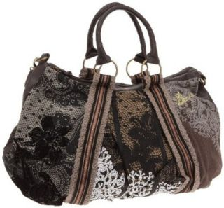 Desigual Bag Puntilla Brown 28x5057/6000 Women: Shoes
