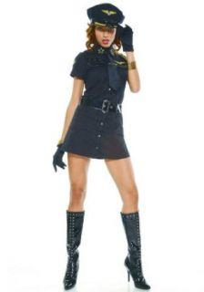 Pleasure Pilot, Sexy Captain Girl Costume: Clothing