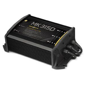 MinnKota MK 315D On Board Battery Charger (3 Banks, 5 Amps