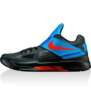 Nike Zoom KD IV   Mens   Black/Varsity Red: Shoes