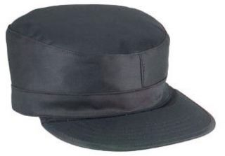 Army Ranger Military Fatigue Caps   Black Cap Clothing