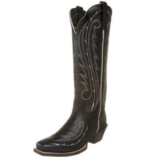 Ariat Womens Legend Bramble Tall Boot,Black Patent,10 M US Shoes