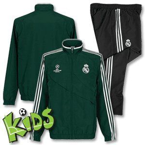 12 13 Real Madrid Champions League Presentation Tracksuit