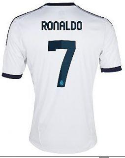 #7 RONALDO Real Madrid Home 2012 13 Kid Soccer Jersey