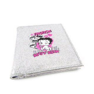 Wallet Betty Boop silvery straw. Shoes