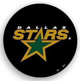 Dallas Stars Black Spare Tire Cover