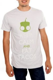 Invader Zim Keep Calm Gir Tacos T Shirt Clothing
