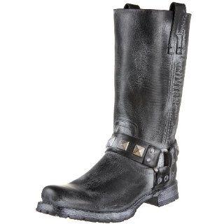 FRYE Womens Heath Studded Harness Boot Shoes