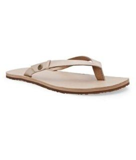 UGG Australia Womens Ally Flip Flops, 11, Champagne Shoes