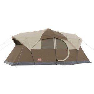 Coleman weathermaster 10 tent with hinged door + 10% off
