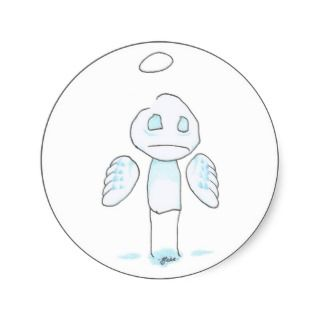 guardian angel sticker
